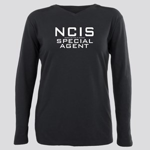 NCIS Special Agent Plus Size Long Sleeve Tee