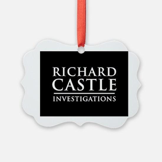 Richard Castle Investigations PI Ornament