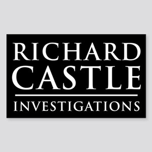Richard Castle Investigations PI Sticker