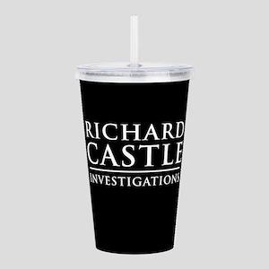 Richard Castle Investigations PI Acrylic Double-wa