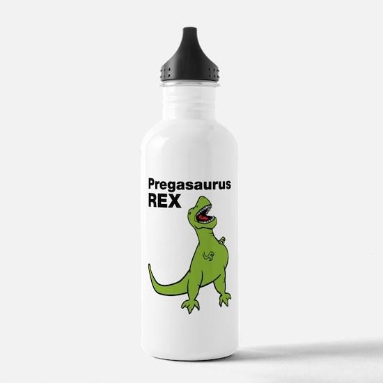 T-rex Pregnant Humor Water Bottle
