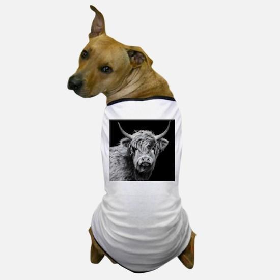 Unique Cow art Dog T-Shirt