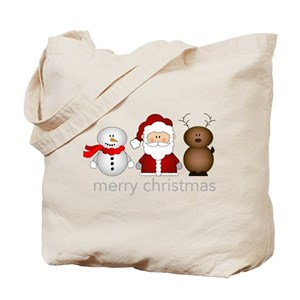 Christmas Canvas Tote Bags - CafePress 3a65ceaf3cb21