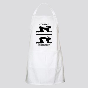 Correct Your Position, Adult Humor Apron
