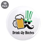 """Personalize St Patricks Day 3.5"""" Button (10 pack)"""