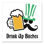 """Personalize St Patricks Day Square Car Magnet 3"""" x"""