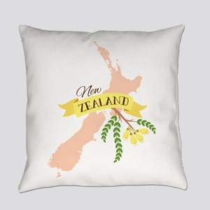 New Zealand Kowhai Everyday Pillow
