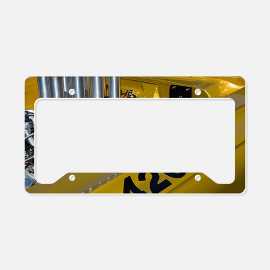 Funny American muscle License Plate Holder