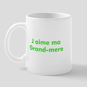 J aime ma Grand-mere Mug