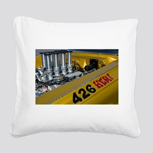 Hemi power! Square Canvas Pillow