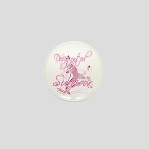 Pink Ribbon Survivor Mini Button