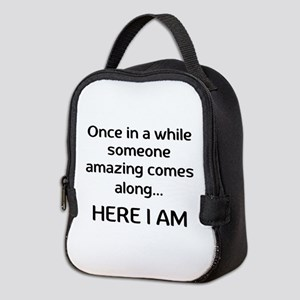 someone amazing Neoprene Lunch Bag