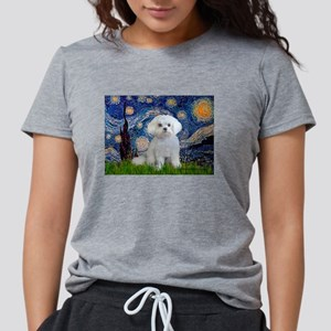 Starry Night / Maltese (R) T-Shirt