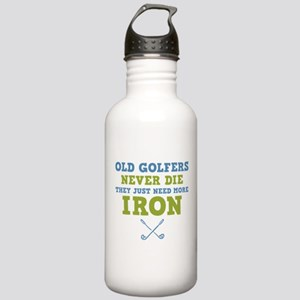 Old Golfers Need Iron Stainless Water Bottle 1.0L