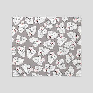Polar Bears Throw Blanket