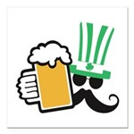 Cheers Square Car Magnet 3