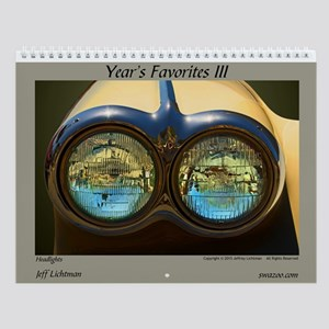 Year's Favorites 3 Wall Calendar