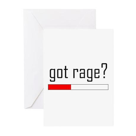 Got Rage? Greeting Cards (Pk of 20)