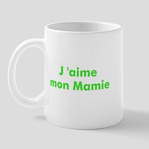J 'aime mon Mamie Mug