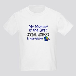 Best Social Worker In The World (Mommy) Kids Light