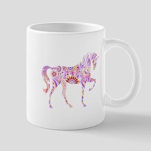 Colorful Horse 3 Mugs