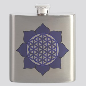 Lotus Blue6 Flask