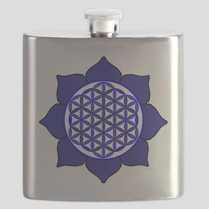 Lotus Blue6 Flask