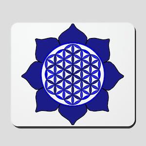 Lotus Blue6 Mousepad