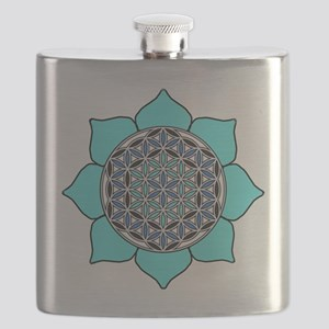 Lotus Blue2 Flask
