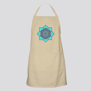 Lotus Blue2 Apron