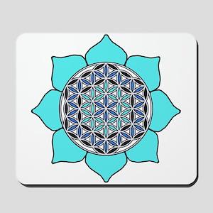 Lotus Blue2 Mousepad