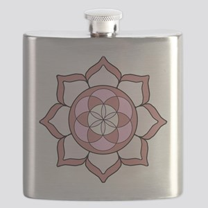 Lotus Rose3 Flask