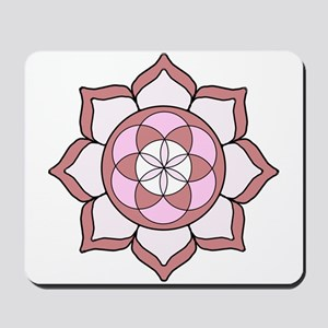 Lotus Rose3 Mousepad