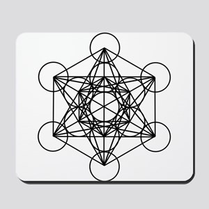 Metatron Cube Mousepad