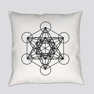 Metatron Cube Everyday Pillow