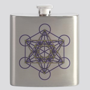 MetatronBlueStar Flask