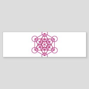 MetatronVGlow Sticker (Bumper)