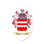 Manzanares Oval Car Magnet