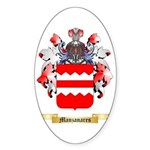 Manzanares Sticker (Oval)