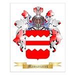 Manzanares Small Poster