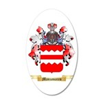 Manzanares 20x12 Oval Wall Decal
