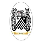 Many Sticker (Oval 10 pk)