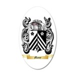 Many 20x12 Oval Wall Decal