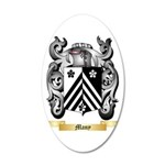 Many 35x21 Oval Wall Decal