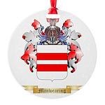 Manwearing Round Ornament