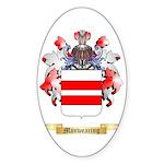 Manwearing Sticker (Oval 50 pk)