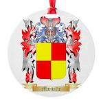 Manville Round Ornament