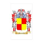 Manville Sticker (Rectangle 10 pk)