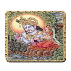 Vision of Krishna Mousepad