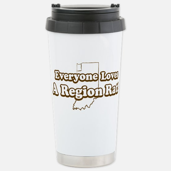 Everyone Loves A Region Rat Mugs